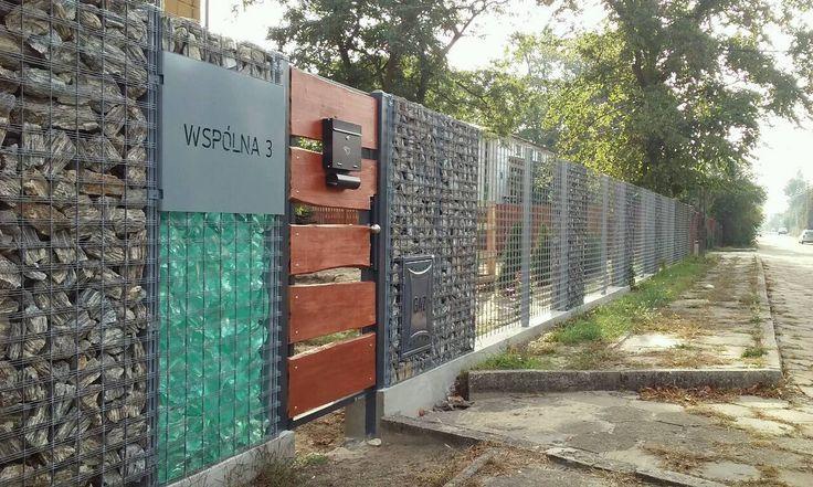 Ogrodzenia #gabion.owe Progress nowa realizacja.