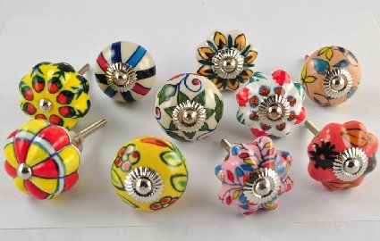 1000 images about cabinet knobs on pinterest knobs for Painted ceramic cabinet knobs