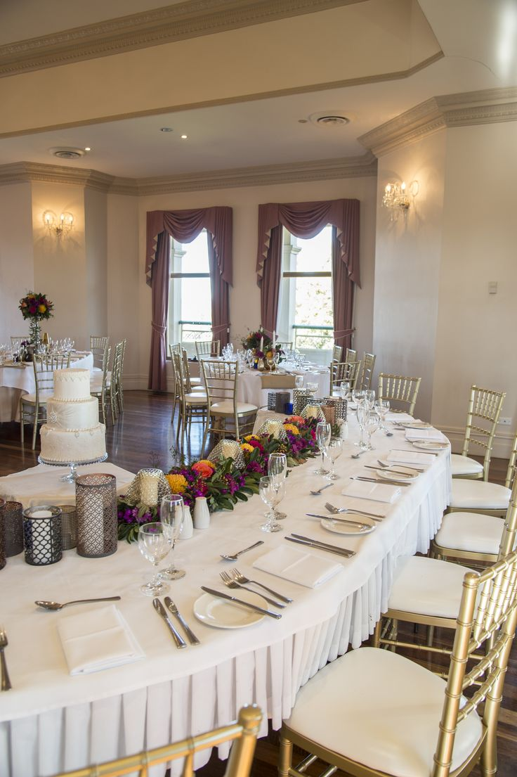 Our Regency room with beautiful pops of colour! | Wedding style | Eschol Park House | Sydney wedding venue