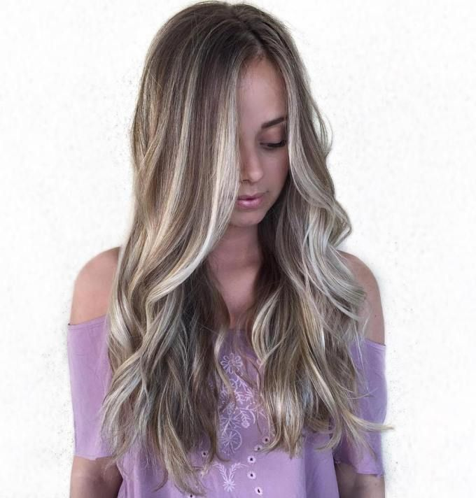 45 Adorable Ash Blonde Hairstyles: 45 Shades Of Grey: Silver And White Highlights For Eternal