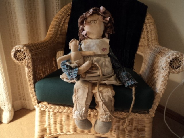 8 Best Images About Attic Babies Folk Art Sewn Dolls On