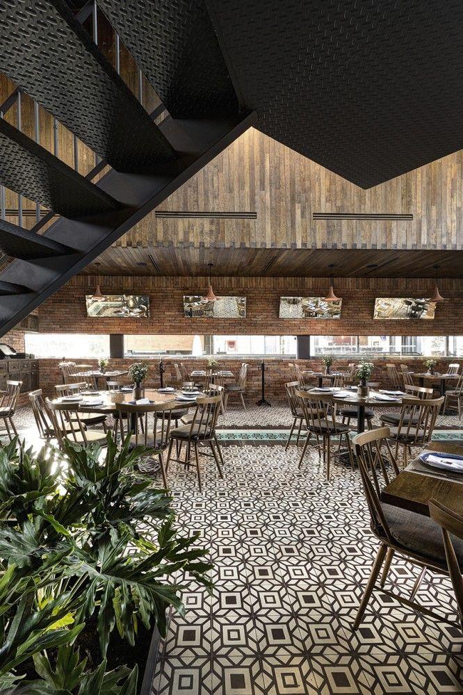 La Tequila South Restaurant / LOA  Restaurant Design, Restaurant Furniture, Restaurant Trends