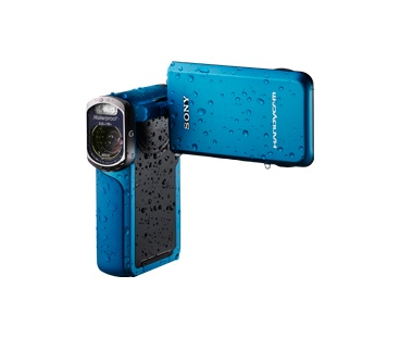 The handy-dandy waterproof Full HD camcorder. #PinItToGiveIt