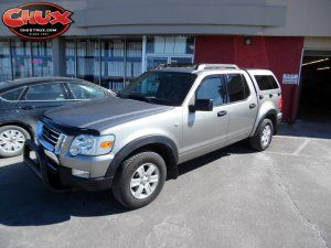 2008 Ford Explorer Sport Trac with ARE Z series camper shell