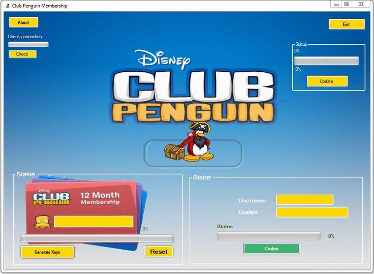Club penguin free membership generator codes