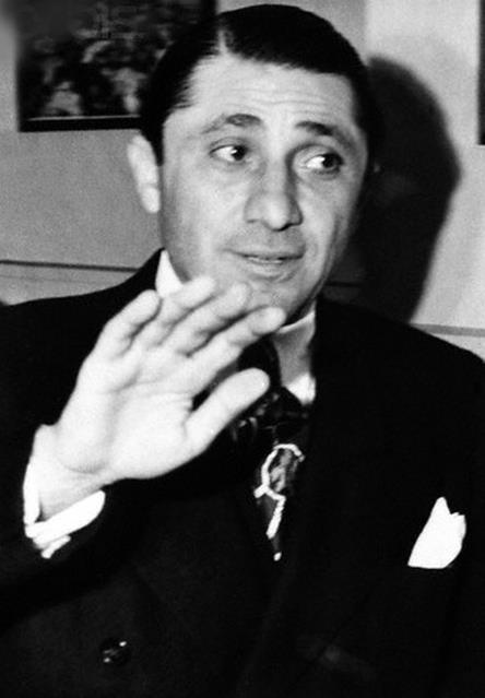 FRANK NITTI, top Chicago gangster in the 1930's - mentor of Saul Alinsky.     Nitti was impressed with Alinsky and  hired him to serve as a bookkeeper and office boy and placed him on a regular salary. From his inside position, Alinsky was able to learn lessons in extortion techniques that he would later employ in organizing in Chicago's Woodlawn and the Back of the Yards neighborhoods.