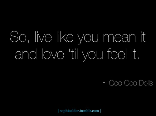 Before It's Too Late - Goo Goo Dolls