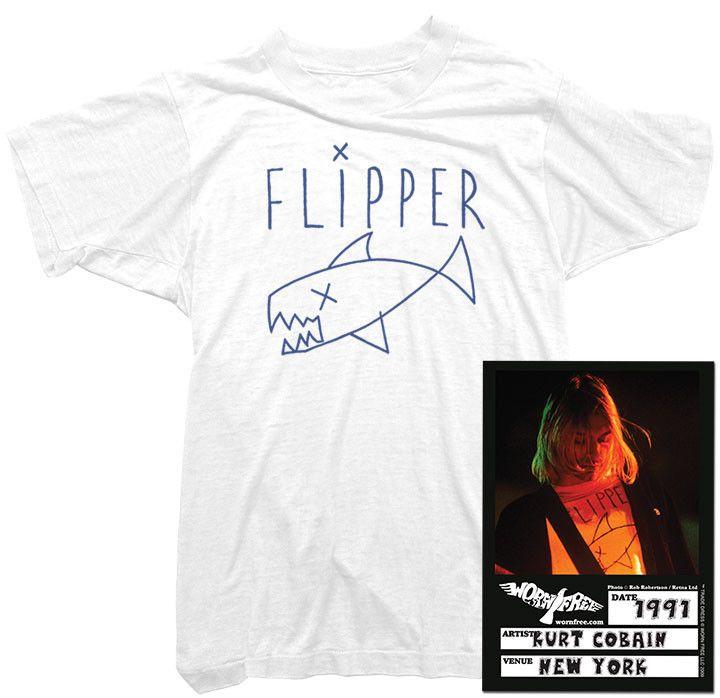 Kurt Cobain - Flipper Tee