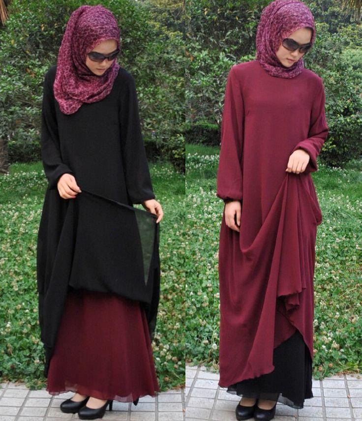 Hijab Fashion 2016/2017: Sélection de looks tendances spécial voilées Look Descreption cute islamic outfits - Google Search