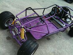 custom go kart frames lurker