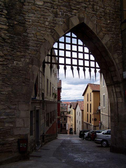 Casco medieval de Vitoria-Gasteiz, Basque Country- Spain