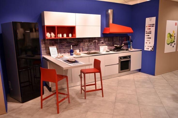 Cucina BERLONI mod. B50 in Fenix