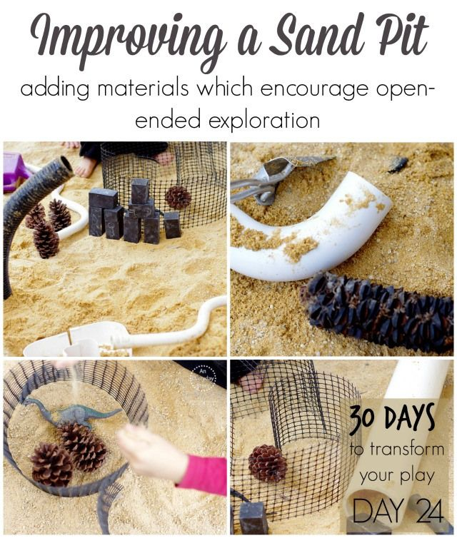 Improving a Sand Pit | Day 24 - 30 Days to Transform Your Play