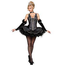 womens dark swan costume