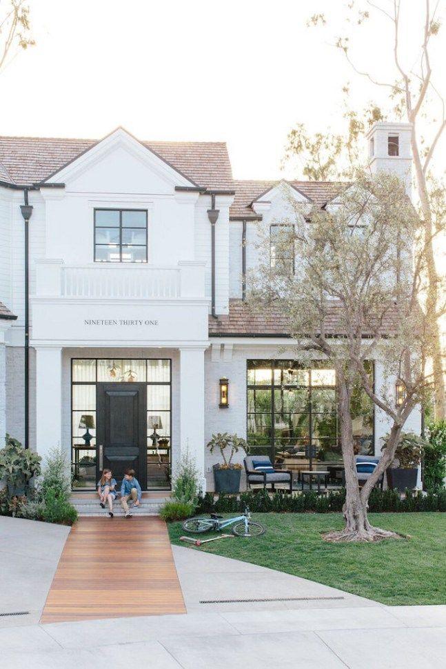 Pros And Cons Painted Brick Exteriorsbecki Owens White Exterior