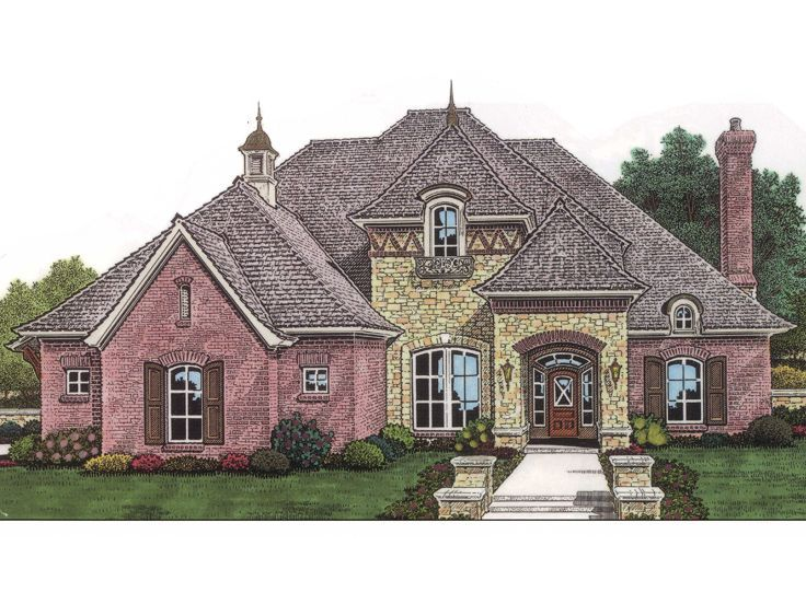 93 best house plans images on pinterest home ideas for Unique european house plans