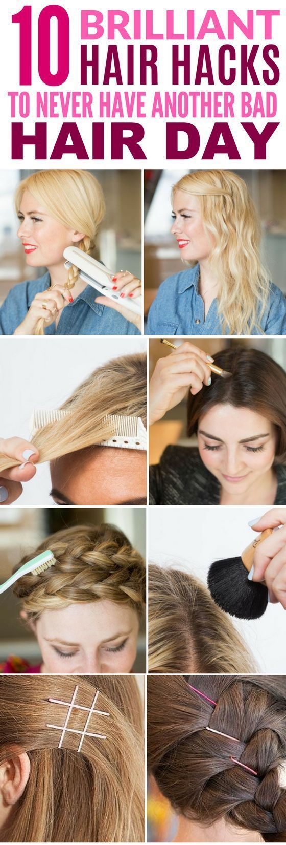 These 10 Hair Hacks Are Seriously The Answer To all My Hair Problems! If you've got curly hair, there is a little something in here for you!