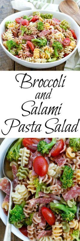 Broccoli and Salami Pasta Salad | eBay