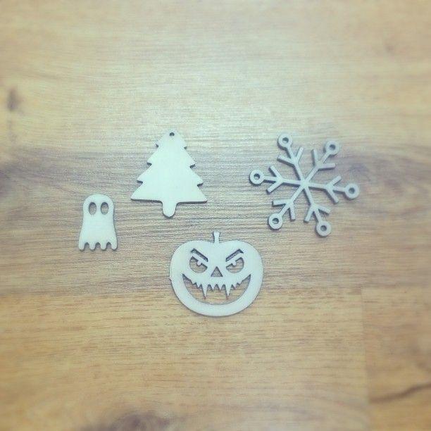 #dekoracje #Halloween  #święta #decoration #Christmas #tree #pumpkin #ghost #deer #snowflake #design #plywood #felt #sklejka #filc #choinka #ozdoby #okno #home #Koszalin #decoupage #różne wzory #zawieszki #fun #wood ##laser #cutting #engraving #child