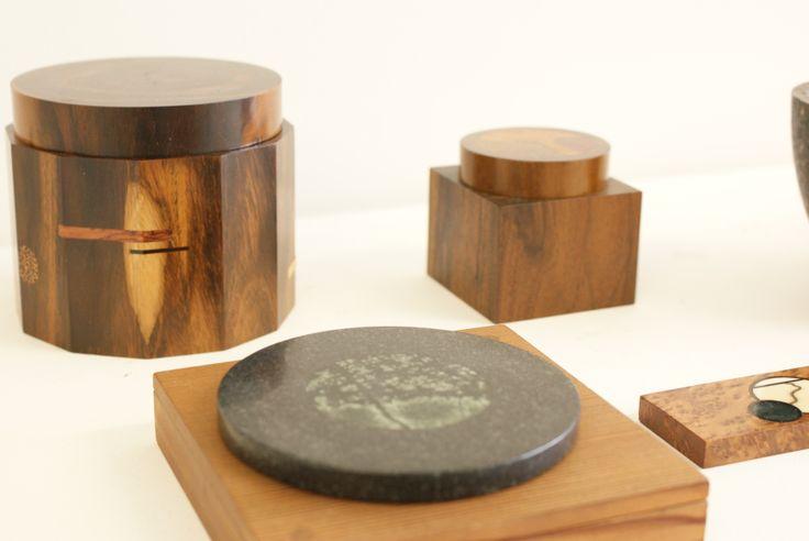 Paul Mason - historic work, inlaid wood and stone