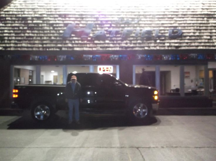 WILLIAM's new 2014 Chevrolet Silverado 1500! Congratulations and best wishes from Jay Hatfield Ford and Montana Cress.