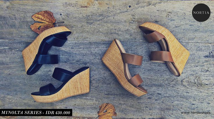 Nortia Minolta series! Kindly visit www.nortia.shoes #wedges #leathershoes #fashion #nature #smartlooks