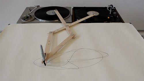 Turntable Drawing Machine