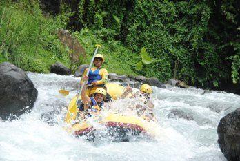 MBA Bali Tours - bali rafting amazing river