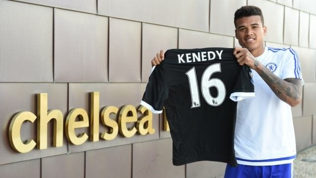 Kennedy arrived at Chelsea FC from Fluminense after training with the team in preseason
