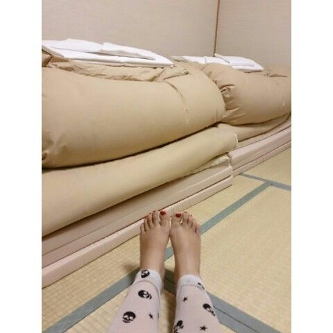 March 21st 2015 : my first futon, Kyoto, Japan