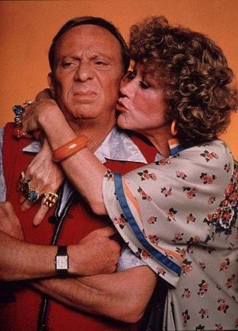 Norman Fell and Audra Lindley..Mr and Mrs Roper.