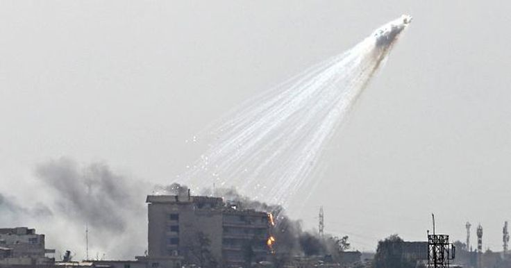 US-led Coalition Acknowledges Use of White Phosphorus In Mosul Amid Mounting Criticism
