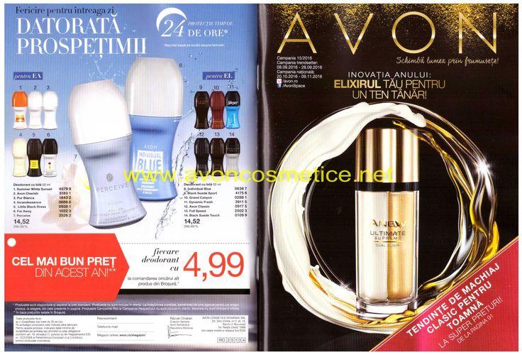Catalog Avon Campania 15/2016 Gama Anew aduce, ca în fiecare catalog al lunii…