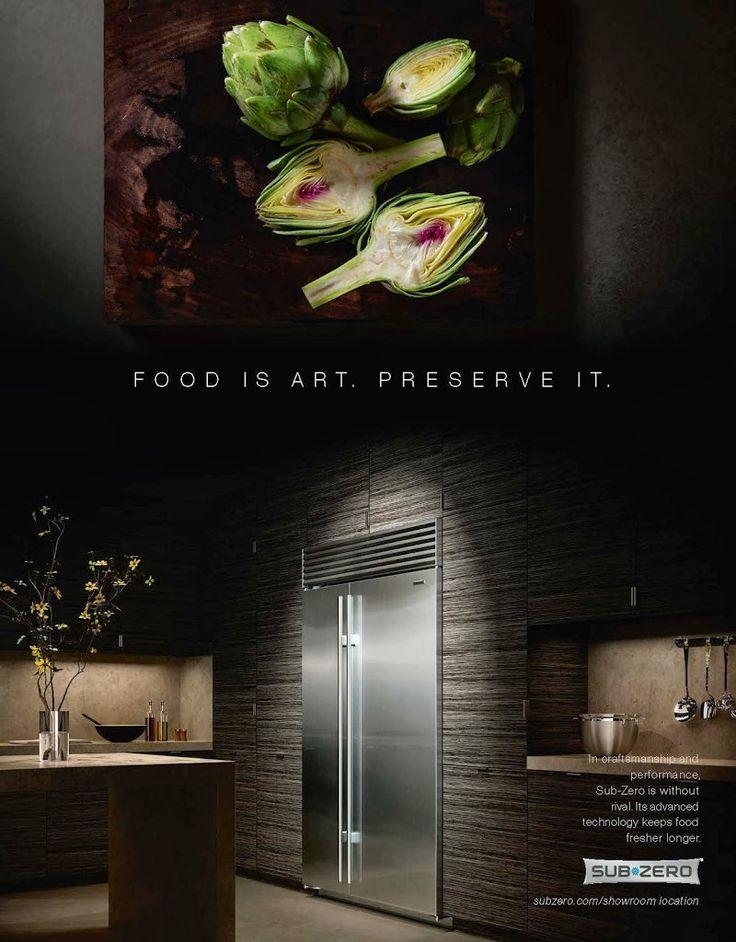 Food Is Art Preserve It Sub Zero Fridge Preserve Your