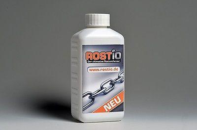Rostio Rostentferner Rostumwandler Rostschutz Rostlöser Entroster 1 Liter