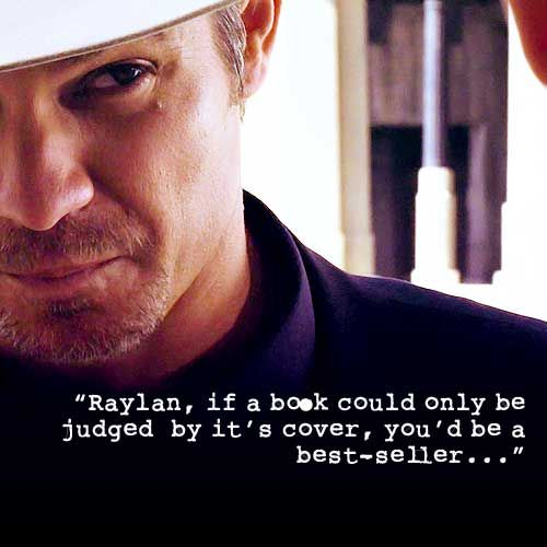 Justified... Raylan Givens is so sexy! !!