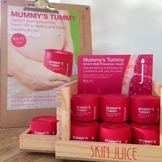 Mummy's Tummy stretch mark prevention cream, satisfying pregnancy skin's moisture cravings.