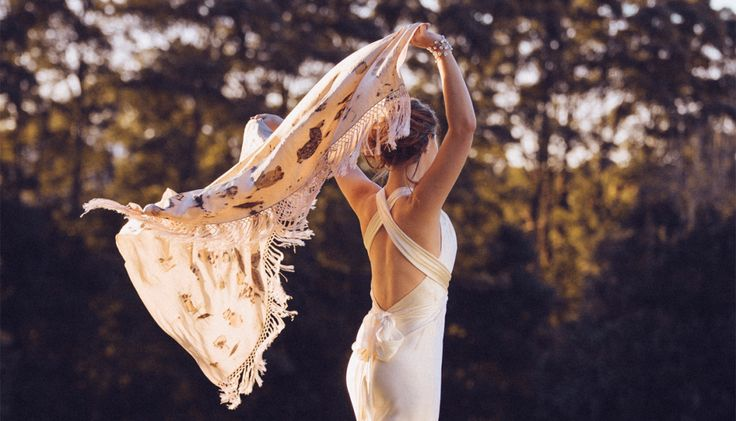 The Ultimate Bridal Heirloom - wedding scarf made from the flowers of your wedding bouquet - AMAZING xx