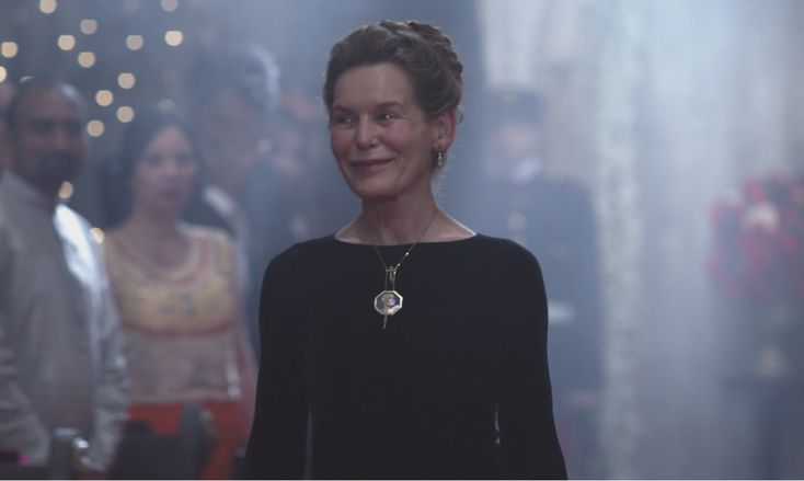Alice Krige as Queen Helena   Christmas movies, Royal wedding, Prince