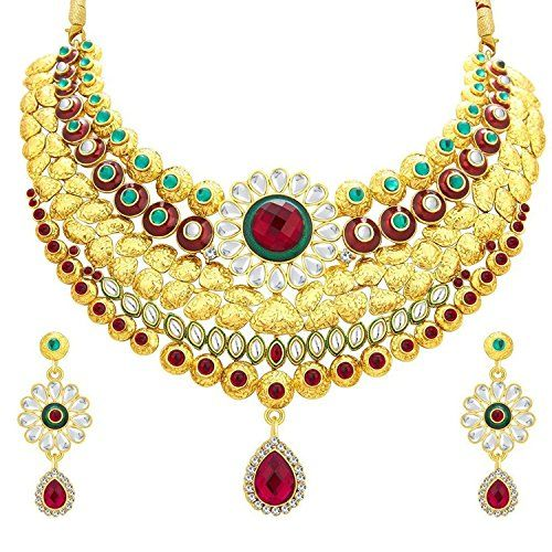 Indian Bollywood Inspired Gold Plated Red & Green Stone T... https://www.amazon.ca/dp/B01NBJ2MI9/ref=cm_sw_r_pi_dp_x_mwRNyb31ZZJPF