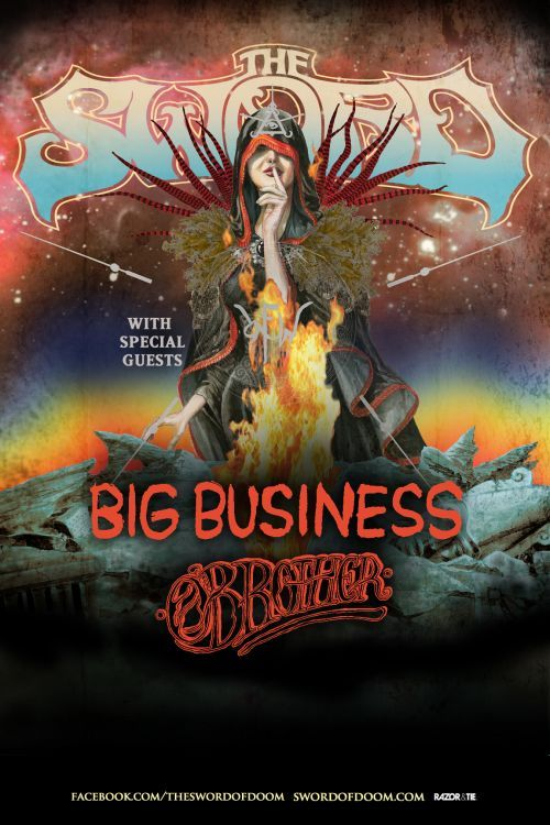 The Sword & Big Business at The Music Hall in London, Ontario. Friday, February 28, 2014. Tickets $20 - Available at: http://www.ticketscene.ca/events/9920/pinterest