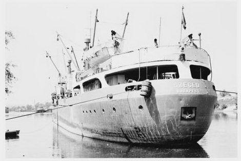 Hajóregiszter - Hajóadatlap: SZEGED hajó