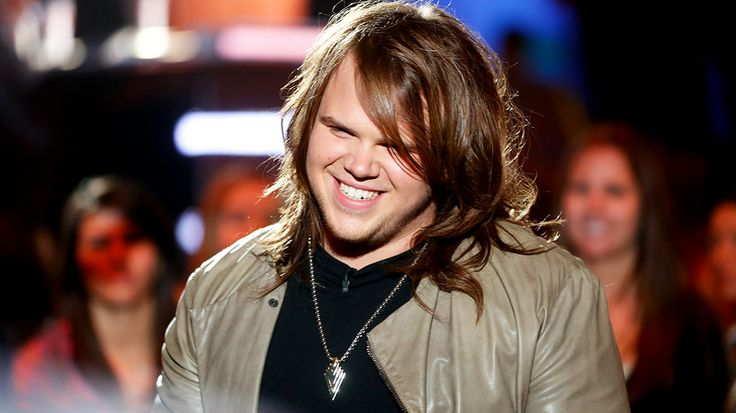 Caleb Johnson smiling during rehearsals. See more: http://idol.ly/1gwdyMM