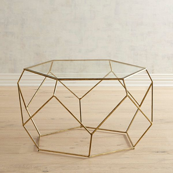 Pier 1 Imports Geometric Coffee Table 360 Liked On Polyvore