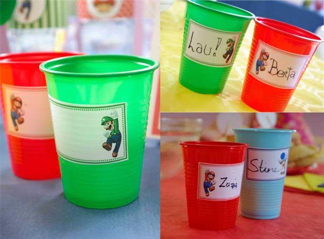Hazlo especial...: Fiesta Mario Bros.