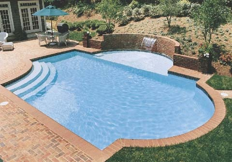 Add on tanning ledge at same level as pool pool ideas for Pool design with tanning ledge