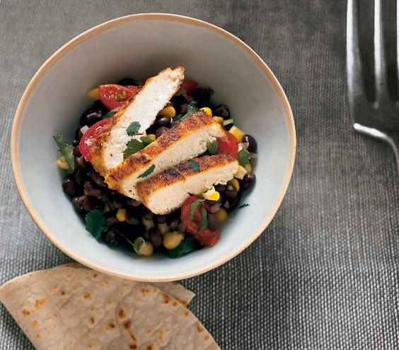 One-Pot Cumin Chicken With Black Beans recipe