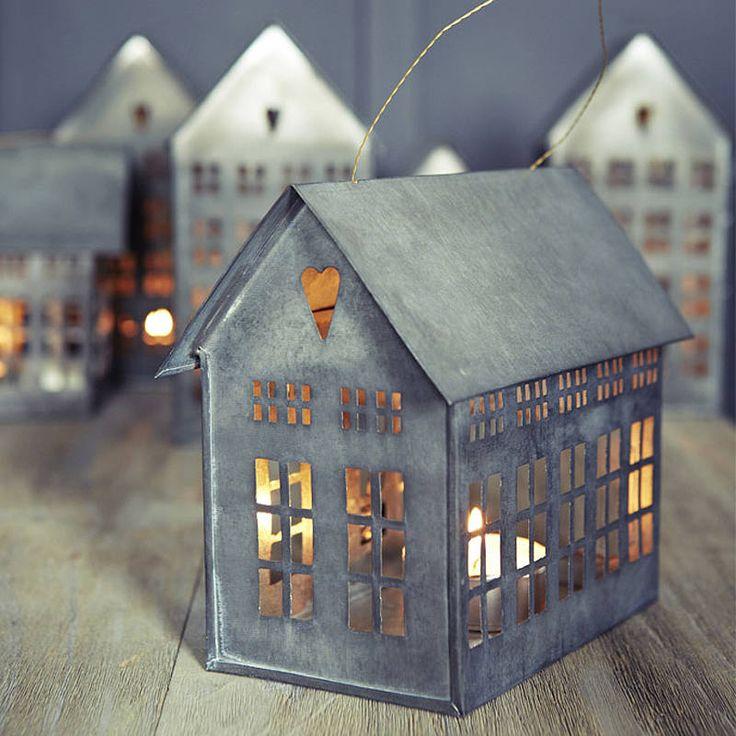177 best images about zinc house lanterns on pinterest for Decoration zinc