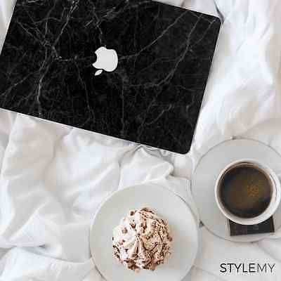 Black Marble Apple MacBook Pro Vinyl Skin Laptop Sticker