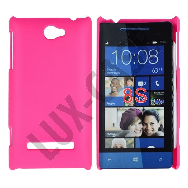 Hot Pink HTC 8S Cover